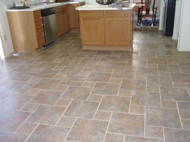 Tile universal floor covering for Kitchen floor covering